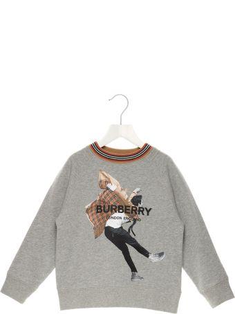 Burberry 'jumping Boy' Sweatshirt