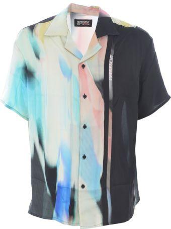 REPRESENT Abstract Print Shirt