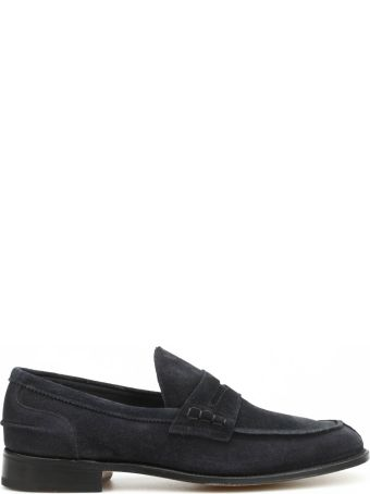 Tricker's Suede Loafers