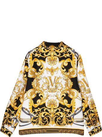 Young Versace Printed Shirt