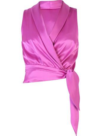 Nanushka Wrap-style Blouse