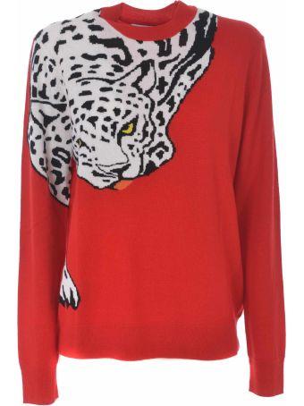 Krizia Intarsia Tiger Sweater
