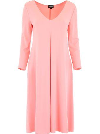 Giorgio Armani Stretch Jersey Dress