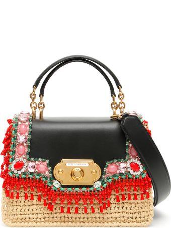 Dolce & Gabbana Rafia Welcome Bag