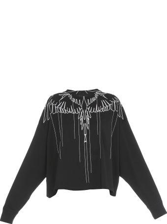 Marcelo Burlon Stitching Wings Sweatshirt