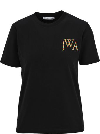 J.W. Anderson Jw Anderson Embroidere Logo T-shirt