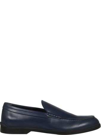 Tod's Logo Embossed Loafers
