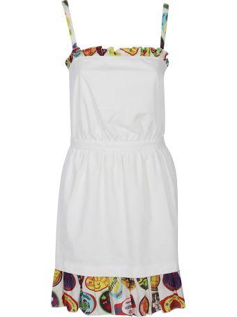 Love Moschino Ruffle Trim Dress