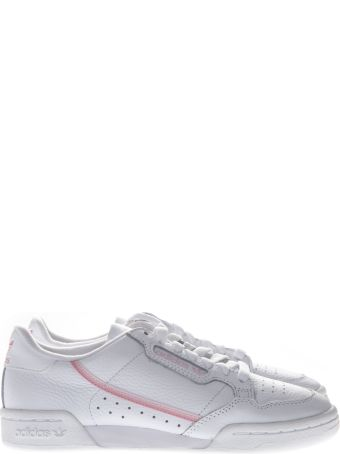 Adidas Originals Continental White Leather Sneakers