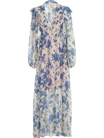 SEMICOUTURE Floral Maxi Dress