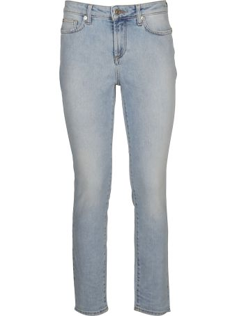 Versace Collection Beaded Skinny Jeans