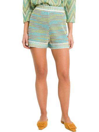 M Missoni Knitten Shorts