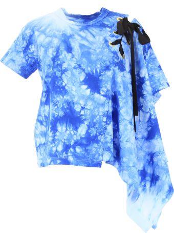 Sacai Asymmetric Tie-dye T-shirt