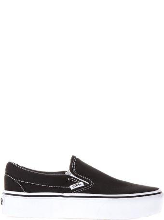 Vans Black Canvas Slip-on Sneakers