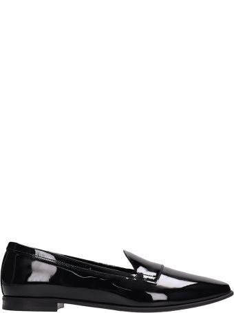 Pierre Hardy Jacno Black Patent Leather Loafers