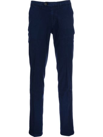 Canali Trousers With Seamed Pockets