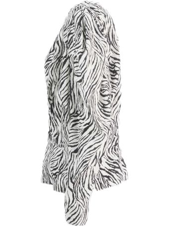 Isabel Marant Printed Gathered-sleeves Blouse