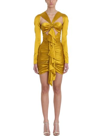 Alexandre Vauthier Ruffled Front Mini-dress