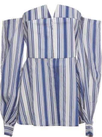 Jovonna Bergamot Striped Shirt