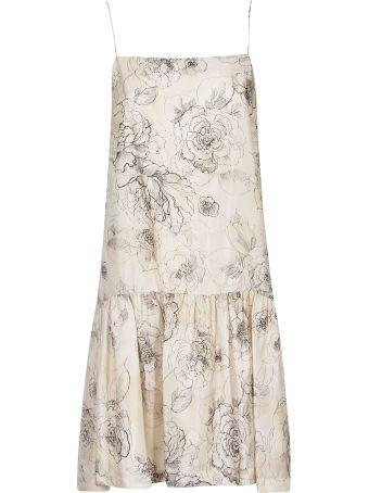 Erika Cavallini Floral Print Dress