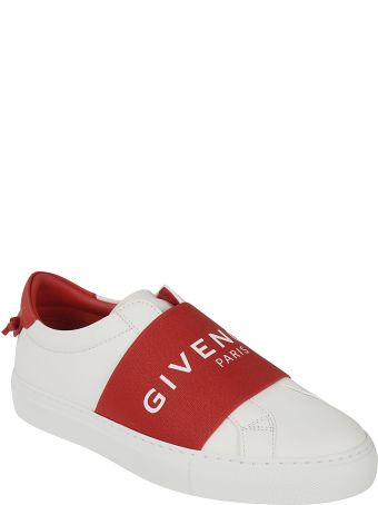Givenchy Logo Front Slide-on Sneakers