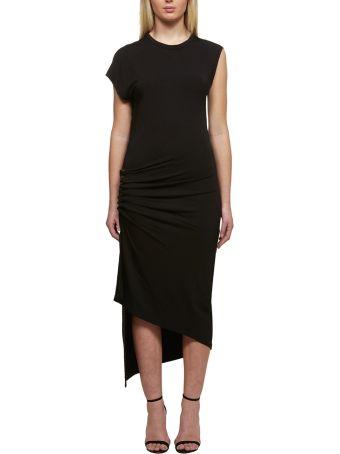 Paco Rabanne Draped Asymmetric Dress