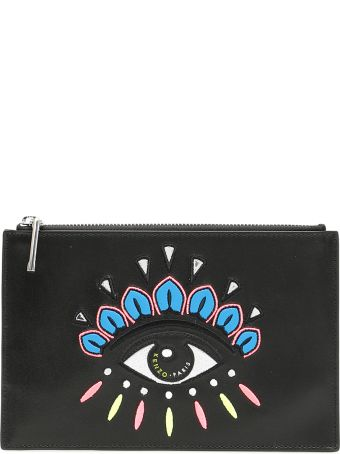 Kenzo Pouch With Eye Embroidery