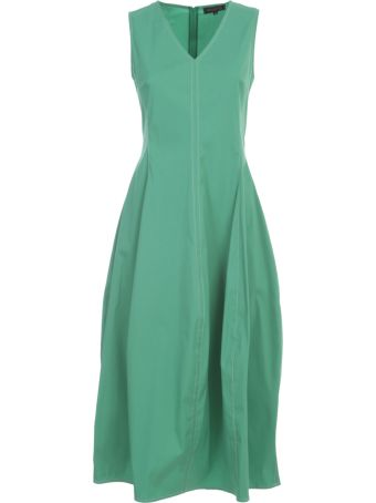 Antonelli Long Dress W/s W/sparkling Skirt
