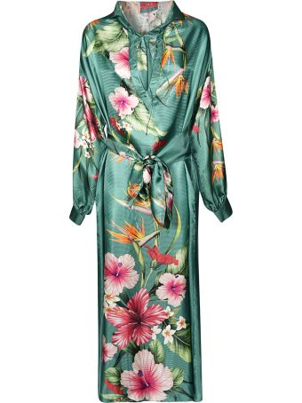 For Restless Sleepers Floral Print Dress
