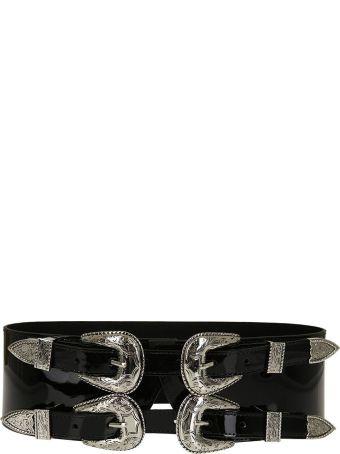B-Low the Belt Double Buckle Waist Belt