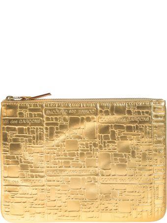 Comme des Garçons Embossed Logotype Wallet