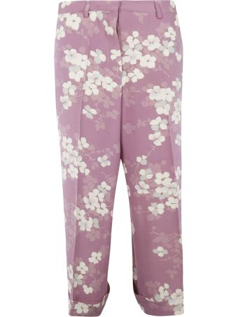 Ibrigu Flower All-over Print Trousers