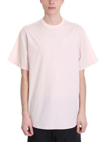 OAMC Newton 2.0 Pink Cotton T-shirt