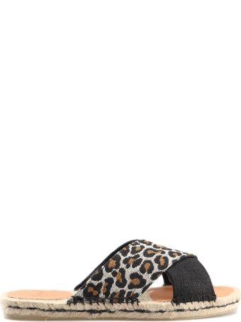 Castañer Leopard Espadrillas