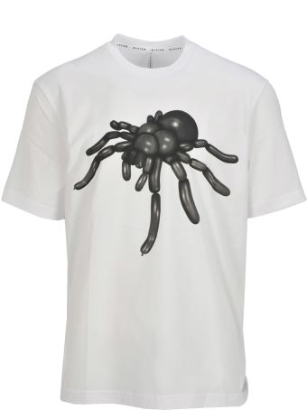 Black Barrett Tshirt Printed Spider