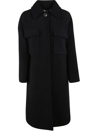 Victoria Beckham Patch Pocket Coat