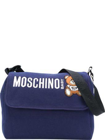 Moschino Blue Changing Bag