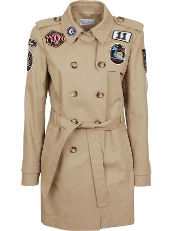 RED Valentino Valentino Red Belted Parka