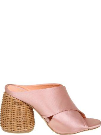 Paloma Barcelò Paloma Barcelo Sandal Lois In Satin Color Pink