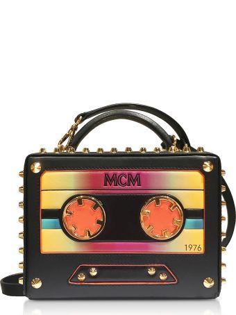 MCM Small Berlin Cassette Crossbody Bag