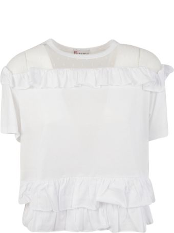 RED Valentino Ruffle Trim Top