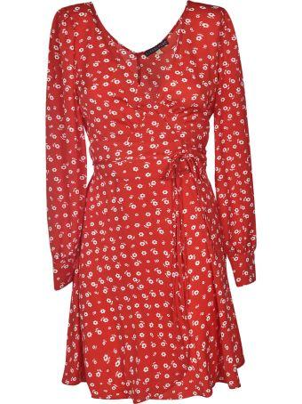 ALEXACHUNG Alexa Chung Flower Print Dress