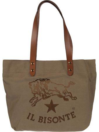 Il Bisonte Logo Shoulder Bag