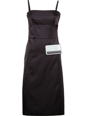 Prada Linea Rossa Nylon Gabardine Dress
