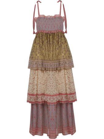 Zimmermann Print Tiered Dress