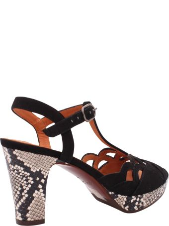 Chie Mihara  Emal Leather Sandals