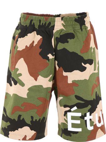 Études Camouflage Bermuda Shorts