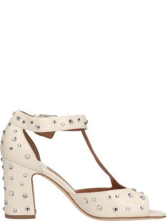 Laurence Dacade Beige Leather Tonina Sandals