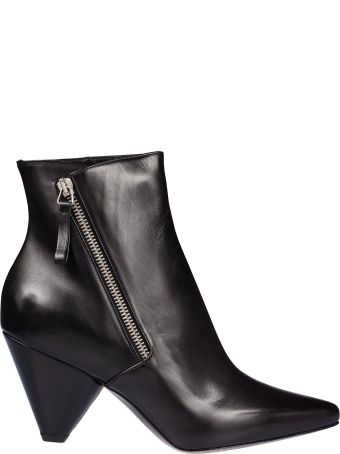 Premiata Zipped Ankle Boots