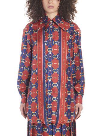 Gucci 'gg Waves' Shirt